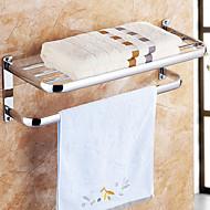 タオルバー 浴室棚 タオルウォーマー / クロム ステンレス鋼 /コンテンポラリー
