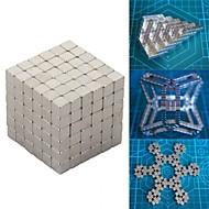 216 pcs Magnetiske leker Byggeklosser Supersterke neodyme magneter Neodym-magnet Metall Barne / Voksne Gutt Jente Leketøy Gave