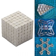 216 pcs Brinquedos Magnéticos Blocos de Construir Imãs Magnéticos Raros Super Fortes Ímã de Neodímio Metal Crianças / Adulto Para Meninos Para Meninas Brinquedos Dom