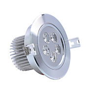 billige Innfelte LED-lys-ZDM® 1pc 5 W 450-550 lm 5 LED perler Høyeffekts-LED Dekorativ Varm hvit / Kjølig hvit 85-265 V / 1 stk. / RoHs / 90