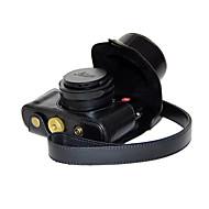 olcso -dengpin pu bőr olaj a bőr levehető kamera tok táska LEICA D-lux typ 109 (vegyes színek)