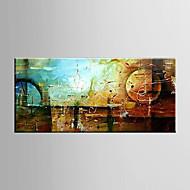 billiga Stilleben-Hang målad oljemålning HANDMÅLAD - Abstrakt Moderna Duk