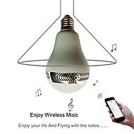 billige Globepærer med LED-YWXLIGHT® 500 lm LED-globepærer LED perler Bluetooth / Oppladbar / Mulighet for demping 85-265 V / 1 stk. / RoHs