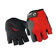 Guanti da ciclismo Gli sport Senza dita Leggero Traspirante Indossabile Nero Rosso Blu Nylon Ciclismo / Bicicletta Fitness Unisex