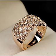 Feminino Maxi anel Moda bijuterias Liga Jóias Para Casamento Festa Diário Casual Esportes
