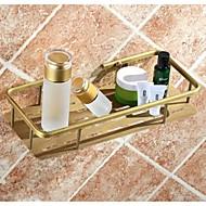 シャワーバスケット 浴室小物 / アンティーク銅 アンティーク