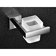 cheap Stainless Steel Series-Toothbrush Holder Bathroom Gadget / Stainless Steel Stainless Steel Glass /Contemporary