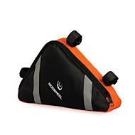 10-20L Bisiklet Çerçeve Çantaları Üçgen Çerçeve Çanta Yansıtıcı Su Geçirmez Giyilebilir Bisiklet Çantası Naylon Bisikletçi Çantası Bisiklet Çantası Bisiklete biniciliği / Bisiklet