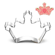 King Queen Crown Shape Cookie Cutters Fruit Cut Molds Stainless Steel
