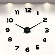 cheap Wall Clocks-Modern/Contemporary Metal Novelty Indoor,AA Wall Clock