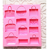 sacos de bolo fondant de chocolate do molde em forma sugarcraft cortador de ferramentas de cozimento de silicone DIY