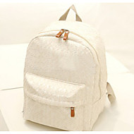 Women Bags Nylon Backpack for Black Beige
