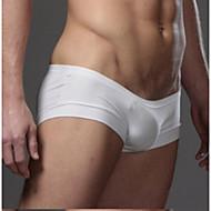 Homme Sexy Boxer Short Couleur Pleine Taille basse