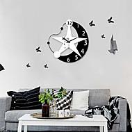 Nowoczesny zegar lustro Moon Star kąt ścianki stylu