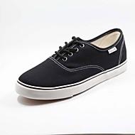 baratos Sapatos Masculinos-Sapatos Masculinos - Tênis Social - Preto / Azul / Cinza - Tecido - Casual