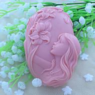 frumos faery săpun mucegai tort de ciocolată fondantă silicon mucegai, unelte decor bakeware