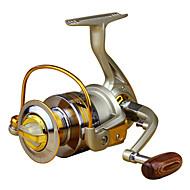 Mulinete de Pescuit Spinning Reels 5.5:1 Omjer prijenosa+10 Kugličnim ležajevima Ljevak Morski ribolov Pecanje na mušicu Mamac Casting