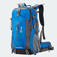 50 L バックパッキング用バックパック サイクリングバックパック トラベルダッフル バックパックカバー 登山 キャンピング&ハイキング 旅行 防水 防雨 耐久性 ラップトップ用バックパック 多機能の ナイロン メッシュ テリレン OSEAGLE
