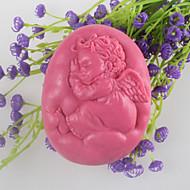 tanie Formy do ciast-Sleeping angel mydło w kształcie formy mooncake formy ciasto czekoladowe kremówki formy silikonowe, narzędzia dekoracji pieczenia