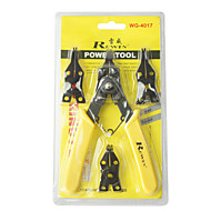ferramenta rewin® 4 cabeças diferentes de alicates anel elástico rewin 175 milímetros ferramenta