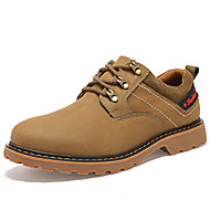 cheap Men's Oxfords-Men's Shoes Suede Spring Summer Comfort Oxfords For Casual Yellow Brown