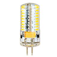 baratos Luzes LED de Dois Pinos-YWXLIGHT® 1pç 6.5 W 650 lm G4 Lâmpadas Espiga T 72 Contas LED SMD 3014 Branco Quente / Branco Frio 12 V / 24 V / 1 pç / RoHs