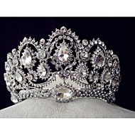 cheap Wedding Headpieces-Rhinestone Alloy Tiaras 1 Wedding Special Occasion Headpiece