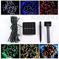 お買い得  LEDストリップライト-ストリングライト 60 LED 温白色 RGB ホワイト グリーン ブルー レッド リモートコントロール カット可能 充電式 調光可能 防水 変色 ノンテープ・タイプ 車に最適 接続可 DC 12V