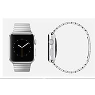 billiga Smart klocka Tillbehör-Klockarmband för Apple Watch Series 4/3/2/1 Apple fjäril spänne Rostfritt stål Handledsrem