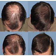 "Brezilyalı bakire saç saç parçaları 6 Peruksuz mens ""ince mono remy insan saçı 8"" x6 ""postiş replanement"