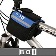 BOI® Sykkelveske 1.9LVesker til sykkelstyre Vanntett / Vanntett Glidelås / Støtsikker / Anvendelig Sykkelveske 600D Ripstop / Klede