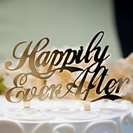 組合せ ( ゴールド / 銀 , 硬質プラスチック ) - 結婚式 / 記念日 / ブライダルシャワー - クラシックテーマ