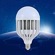 billige Globepærer med LED-E26/E27 LED-globepærer A60(A19) 48 leds SMD 5730 180lm Varm hvit Naturlig hvit Warm white 3000K White light 6400kK Dekorativ AC 220-240