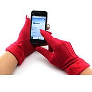 זול כפפות רכיבה על אופניים-כפפות ספורט/ פעילות כפפות רכיבה כפפות מגע שמור על חום הגוף עמיד בטנת פליז נושם על כל האצבע שינלון סקי דיג רכיבה על אופניים / אופנייים