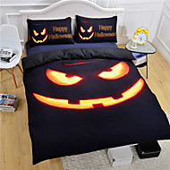 Halloween Duvet Cover Set 3D Bedding Set Twin Full Queen