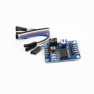 ad pcf8591 / da / analógico para o digital / digital-analógico módulo conversor w cabo / DuPont - azul profundo