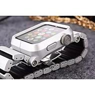 billiga Smart klocka Tillbehör-Klockarmband för Apple Watch Series 4/3/2/1 Apple fjäril spänne Legering Handledsrem