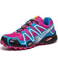baratos Sapatos Femininos-Mulheres Tule Primavera / Verão / Outono Conforto Corrida Cadarço Vermelho / Púrpura