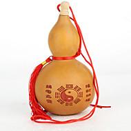 přírodní červená láhev tykev pověsit bytové textilie, dřevo inspirující moderní / současné