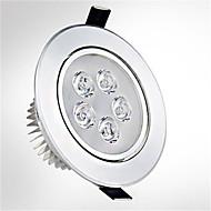1pc ledde forsynt lys 5 høy effekt ledet 550lm varm / kald hvit ac85-265v