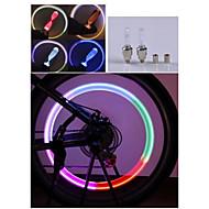 Sykkellykter LED - Sykling Fargeskiftende AG10 90 Lumens Batteri Sykling Motorsykkel Kjøring