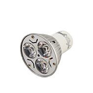 billige Spotlys med LED-YouOKLight 3W 200-250 lm GU10 LED-spotpærer R63 3 leds Høyeffekts-LED Dekorativ Varm hvit Kjølig hvit AC 110-130V AC 220-240V