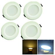 baratos Luzes LED de Encaixe-YouOKLight 200 lm Lâmpada de Embutir 8 leds SMD 5730 Decorativa Branco Quente Branco Frio AC 220-240V