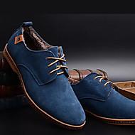 お買い得  紳士靴-男性用 靴 スエード 春 / 秋 コンフォートシューズ / アイデア オックスフォードシューズ ブラック / Brown / ブルー / パーティー / 革靴 / スエードシューズ