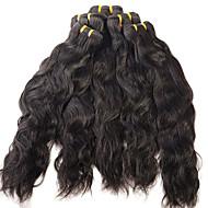 EVET Brazilian Virgin Hair Water Wave Brazilian Hair Weave Bundles Wet And Wavy Virgin Brazilian 1Pc Lot Natural Black