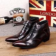 Pantofi barbati Outdoor / Casual / Party & Seară Piele Cizme Burgundia