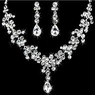 Per donna Parure di gioielli Strass Donne Includere Per Matrimonio Feste Compleanno Fidanzamento Regalo Mascherata / Orecchini / Collane