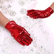 Spandex K zápěstí Rukavice Pro nevěstu Party rukavičky
