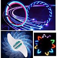 billige Sykkellykter og reflekser-hjul lys LED - Sykling Fargeskiftende CR2032 90 Lumens Batteri Sykling Motorsykkel Kjøring