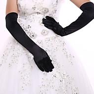 Spandex K lokti Rukavice Pro nevěstu Party rukavičky